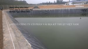 Màng chống thấm HDPE lót bể xử lý nước thải tại Hà Nội