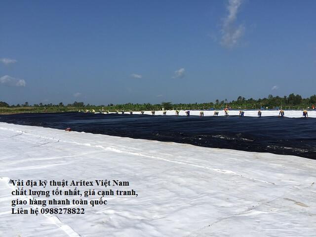 vải địa kỹ thuật Việt Nam đạt chuẩn chất lượng