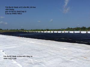 vải địa kỹ thuật xử lý nền đất yếu