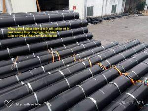 xử lý môi trường bằng màng chống thấm hdpe